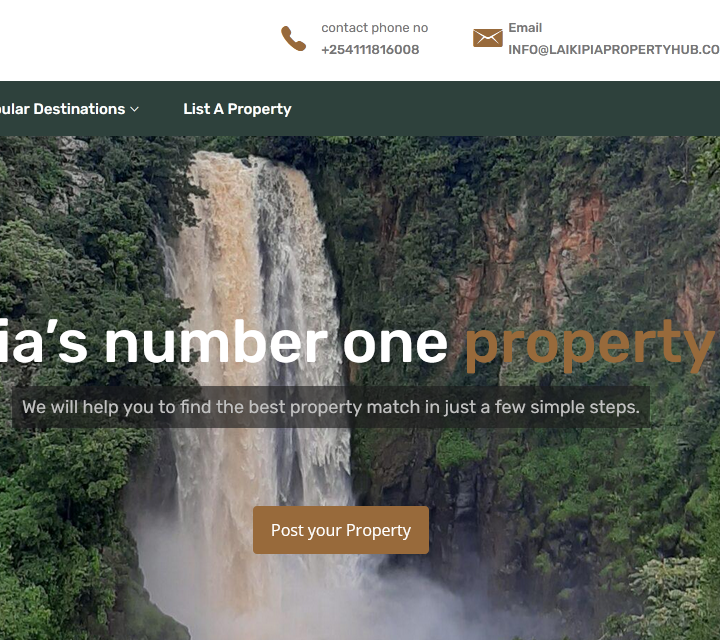laikipia property hub - infoscript technologies project2