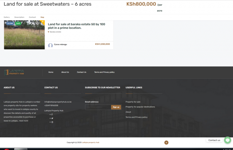 laikipia property hub - infoscript technologies project2